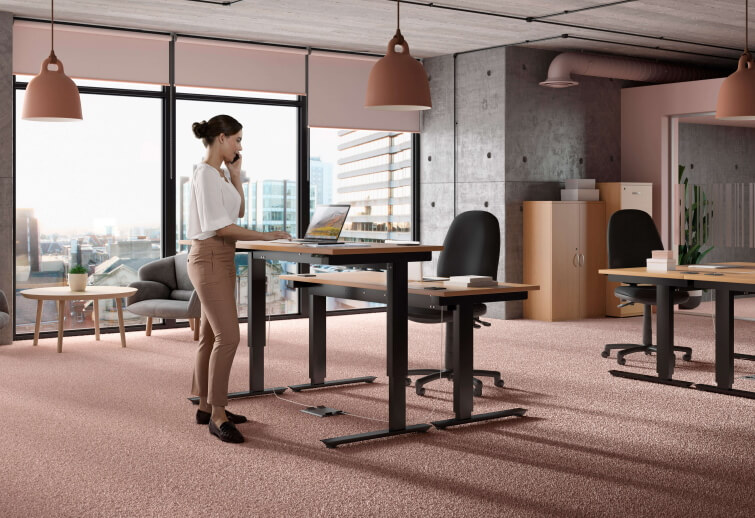 CGI Architecture Height Adjustable desk