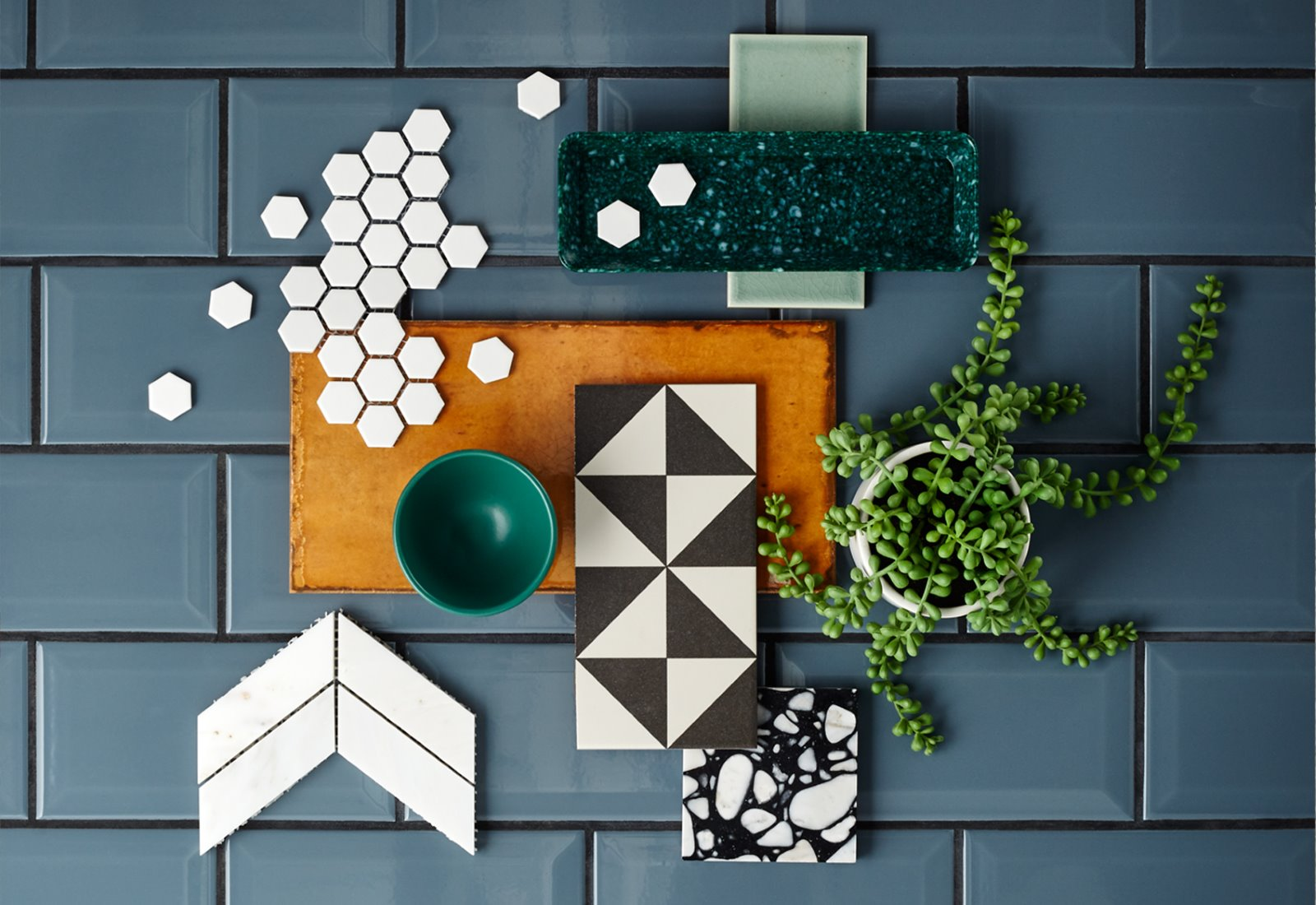 Creative Photography tile samples