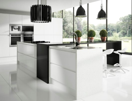 Contemporary Kitchen CGI photography