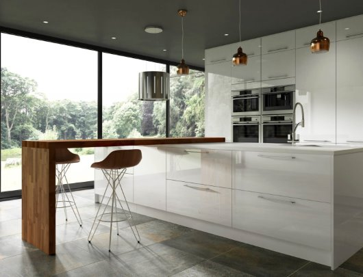 Contemporary Kitchen CGI roomset