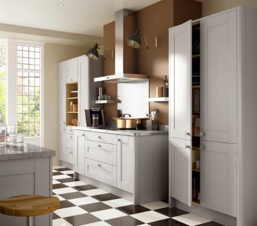 Kitchen roomset CGI photography