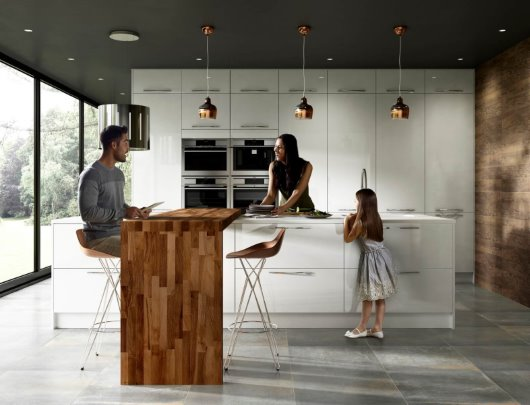 Kitchen With Models