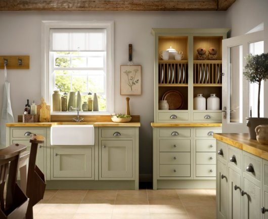 Traditional CGI kitchen photography
