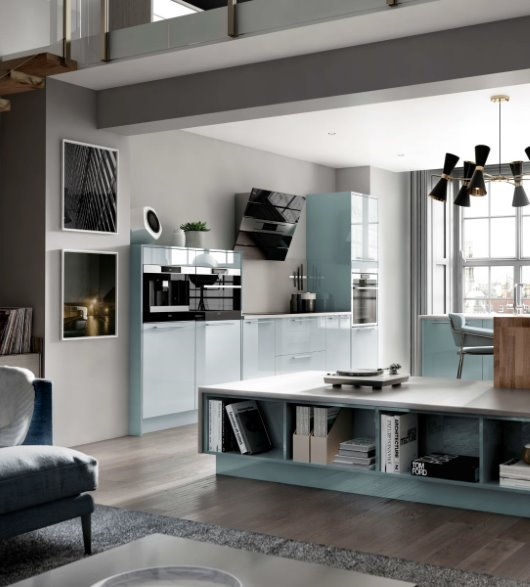 architectural kitchen double height apartment