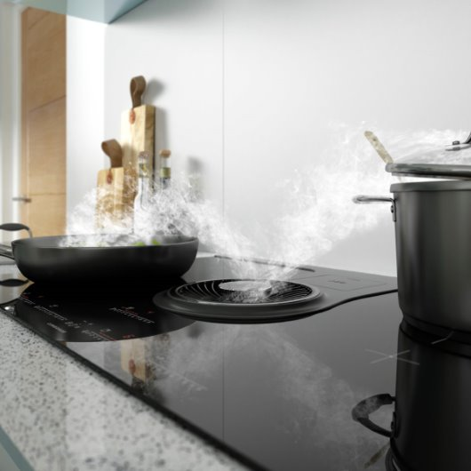 CGI appliance photography hob