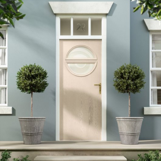 CG exterior door blush pink trend painted georgian