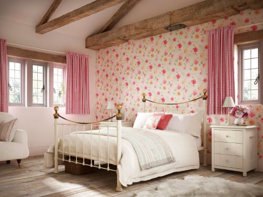 cgi bedroom country rustic feminine