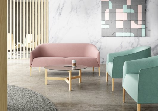 Manta handcrafted luxury contemporary furniture sofa and armchair cgi