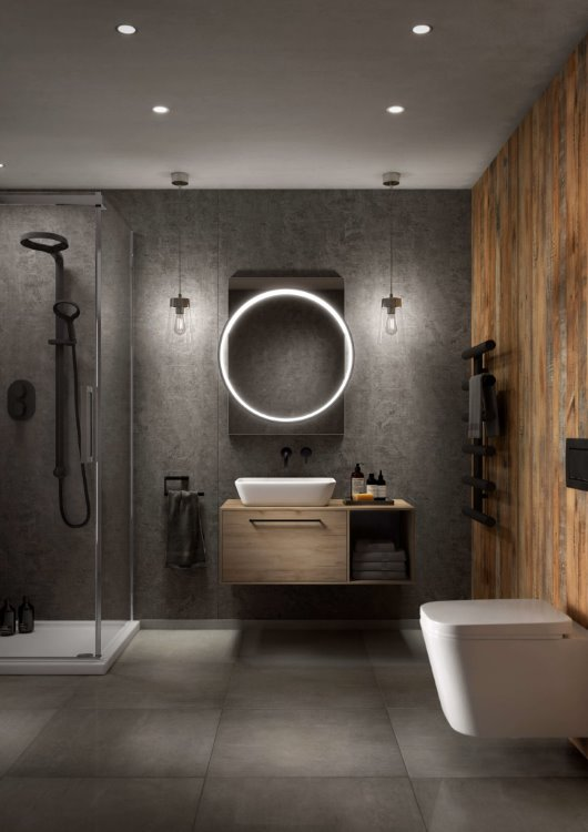 apartment bathroom CGI studio