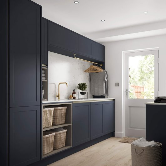 CGI kitchen utility room