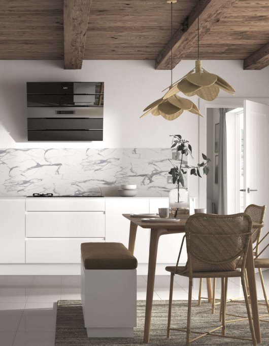 Scandinavian trend kitchen cgi