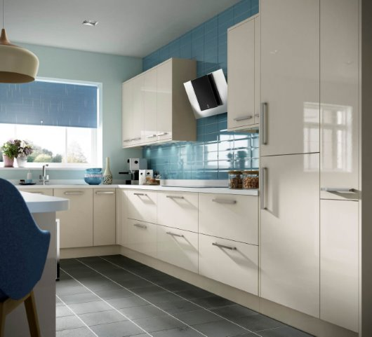 CGI Kitchen room set photography