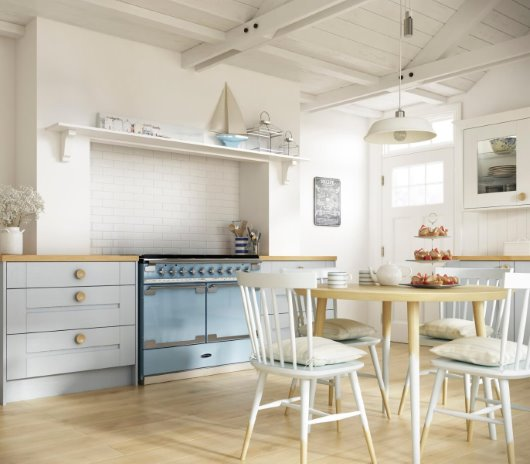 CGI photography kitchen room set