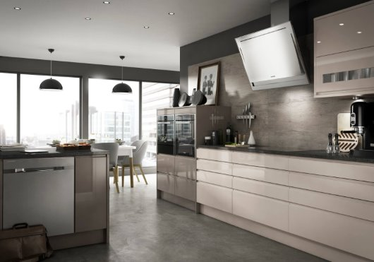 Contemporary CGI Kitchen