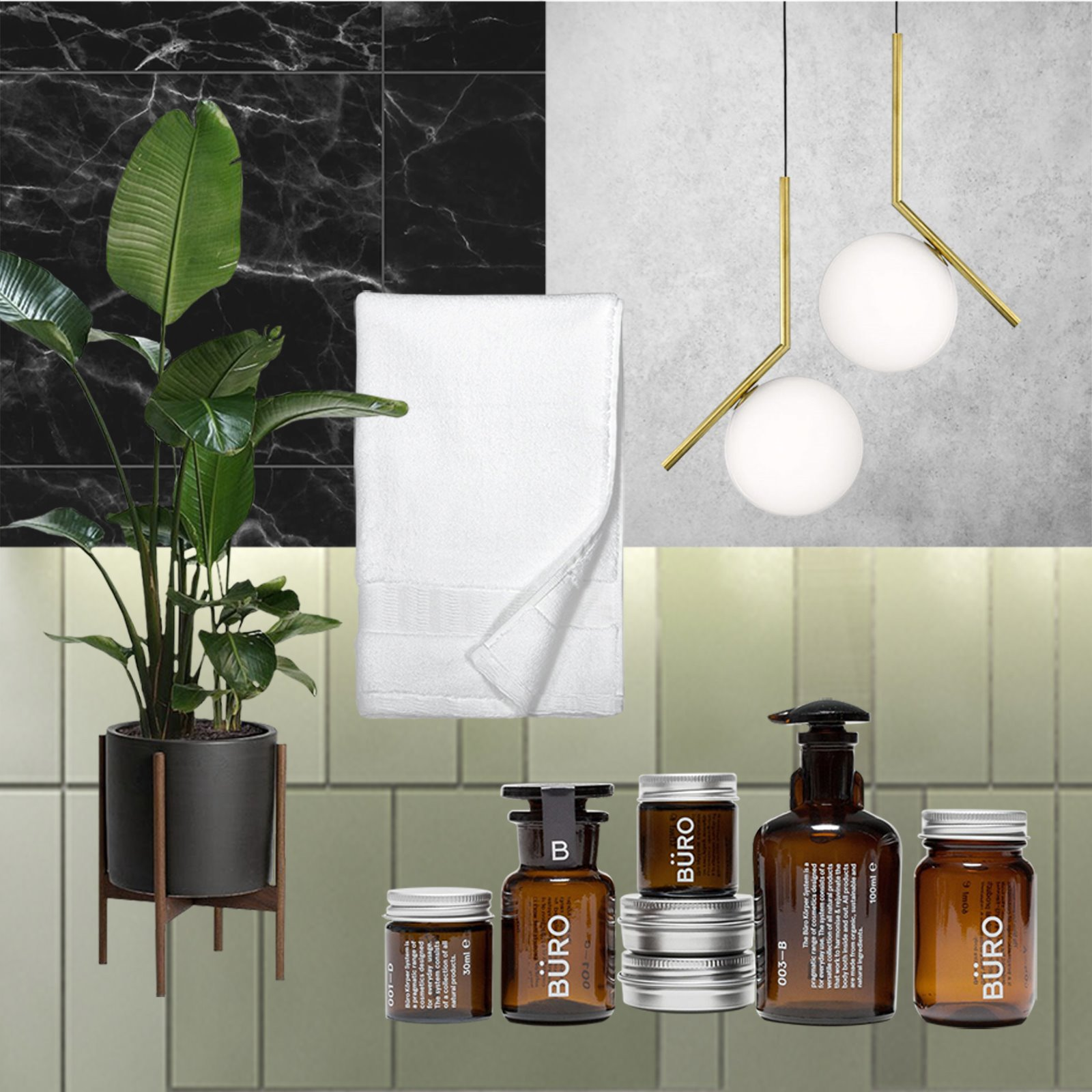 interior design trend lux bathroom Set Visions
