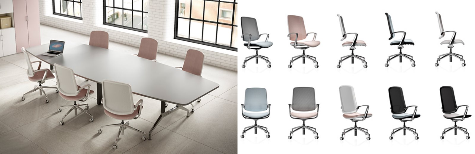 CGI product cut outs office chairs